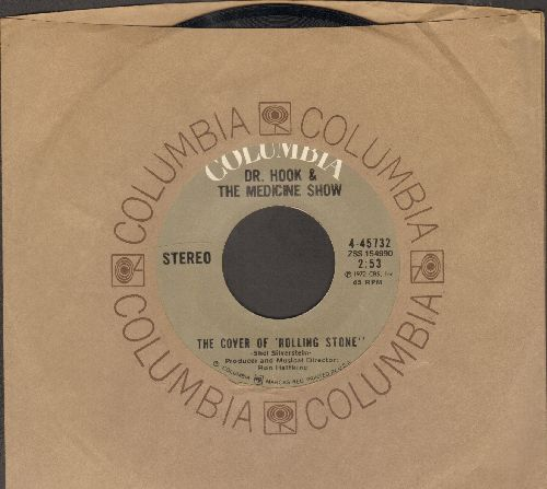 Dr. Hook & The Medicine Show - The Cover Of Rolling Stone/Queen Of The Silver Dollar 9with Columbia company sleeve) - NM9/ - 45 rpm Records