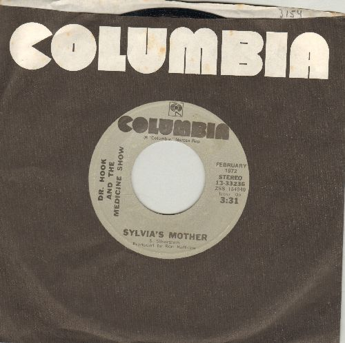 Dr. Hook & The Medicine Show - Sylvia's Mother/Carry Me, Carrie (double-hit re-issue with Columbia company sleeve) - NM9/ - 45 rpm Records