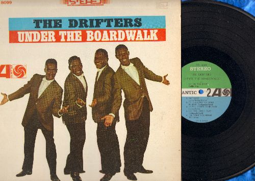 Drifters - Under The Boardwalk: On Broadway, Up On The Roof, Rat Race, Let The Music Play, I'll Take You Home (vinyl STEREO LP record) - NM9/VG7 - LP Records