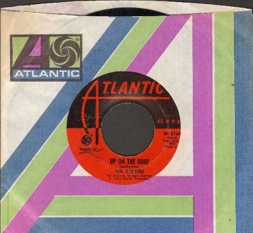 Drifters - Up On The Roof/Another Night With The Boys (1970s issue with Atlantic company sleeve) - EX8/ - 45 rpm Records