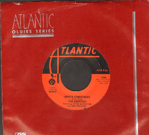 Drifters - White Christmas/The Bells Of St. Mary's (authentic-looking re-issue with Atlantic company sleeve) - NM9/ - 45 rpm Records