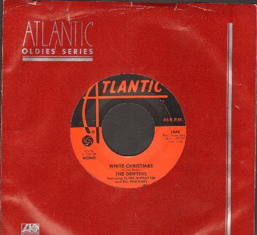 Drifters - White Christmas/The Bells Of St. Mary's (re-issue with Atlantic company sleeve) - NM9/ - 45 rpm Records