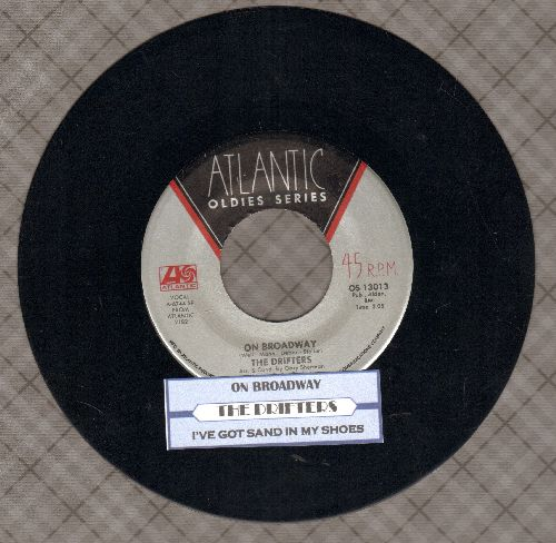 Drifters - On Broadway/I've Got Sand In My Shoes (double-hit re-issue with juke box label) - NM9/ - 45 rpm Records