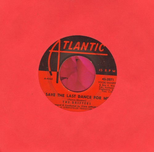 Drifters - Save The Last Dance For Me/Nobody But Me  - EX8/ - 45 rpm Records