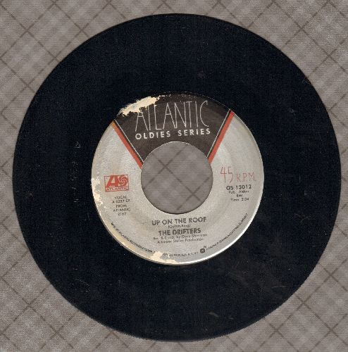 Drifters - Up On The Roof/Please Stay (double-hit re-issue) - EX8/ - 45 rpm Records
