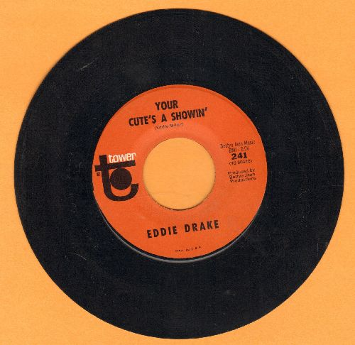 Drake, Eddie - Your Cute's A Showin'/Complely Destroyed  - EX8/ - 45 rpm Records