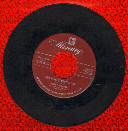 Draper, Rusty - Free Home Demonstration/Gambler's Guitar  - VG6/ - 45 rpm Records