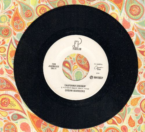 Dream Warriors - California Dreamin'/Day In Day Out (one Day In The Funk Remix) (RARE Hip-Hop 2-sider!) - NM9/ - 45 rpm Records