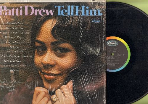 Drew, Patti - Tell Him: Knock On Wood, Show Me, My Lover's Prayer, Been Rained On, Stop And Listen (vinyl MONO LP record)(bb) - EX8/VG7 - LP Records