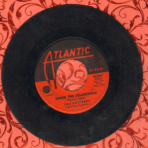 Drifters - Under The Boardwalk/I Don't Want To Go On Without You - VG6/ - 45 rpm Records