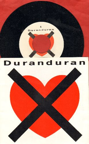 Duran Duran - I Don't Want Your Love (Edited and Extended Album versions, with picture sleeve) - NM9/NM9 - 45 rpm Records