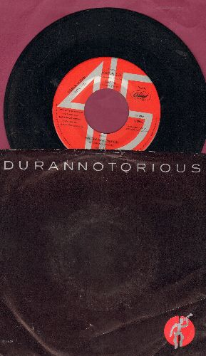 Duran Duran - Notorious/Winter Marches On (with picture sleeve) - VG7/EX8 - 45 rpm Records