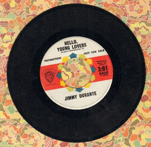 Durante, Jimmy - Hello, Young Lovers/This Is All I Ask (DJ advance pressing) - EX8/ - 45 rpm Records