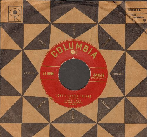 Day, Doris - Love's Little Island/Let It Ring (with vintage Columbia company sleeve) - EX8/ - 45 rpm Records