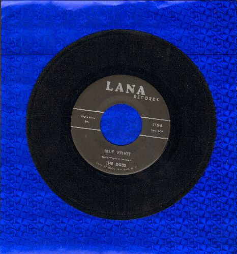 Dubs - Blue Velvet/Could This Be Magic (early double-hit re-issue) - EX8/ - 45 rpm Records