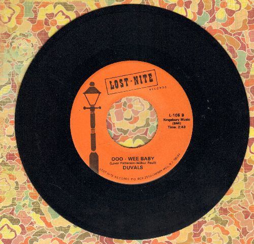 Duvals - Ooo-Wee Baby/You Come To Me (double-hit re-issue) - EX8/ - 45 rpm Records