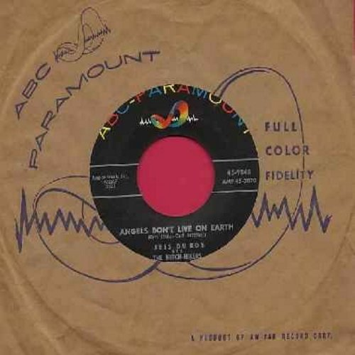 Du Boy, Jess & The Hitch-Hikers - Angels Don't Live On Earth/Beautiful Love (with ABC-Paramount company sleeve) - NM9/ - 45 rpm Records