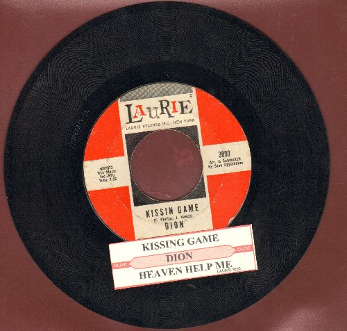 Dion - Kissin Game/Heaven Help Me (WITH JUKE BOX LABEL) - EX8/ - 45 rpm Records
