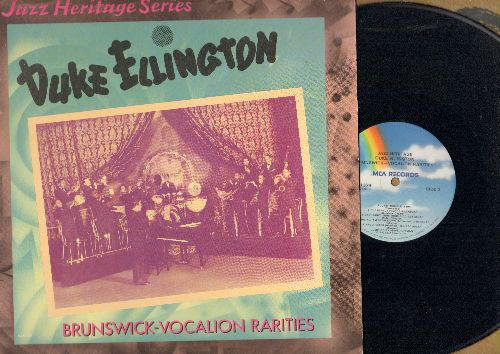 Ellington, Duke - Brunswick-Vovalion Rarities: Tiger Rag, Rockin' Chair, The Peanut Vendor, The Creeper (re-issue of vintage Jazz recordings) - NM9/NM9 - LP Records