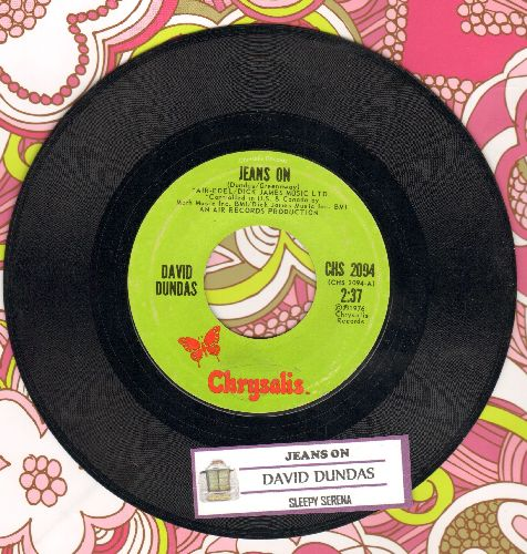 Dundas, David - Jeans On (I Pull My Old Blue Jeans On)/Sleepy Serena  - VG7/ - 45 rpm Records