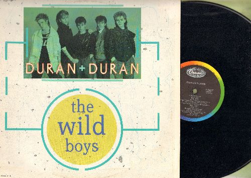 Duran Duran - The Wild Boys (2 Extened Dance Club Mixes on 12 inch Maxi Single, with picture cover) - EX8/EX8 - Maxi Singles