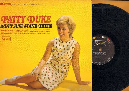 Duke, Patty - Don't Just Stand There: Say Something Funny, Danke Schoen, Too Young, Save Your Heart Fr Me, Downtown (Vinyl MONO LP record) - EX8/EX8 - LP Records