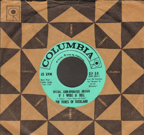 Dukes Of Dixieland - Linda Rose/If I Were A Bell (RARE DJ pressing with vintage Columbia company sleeve) - NM9/ - 45 rpm Records
