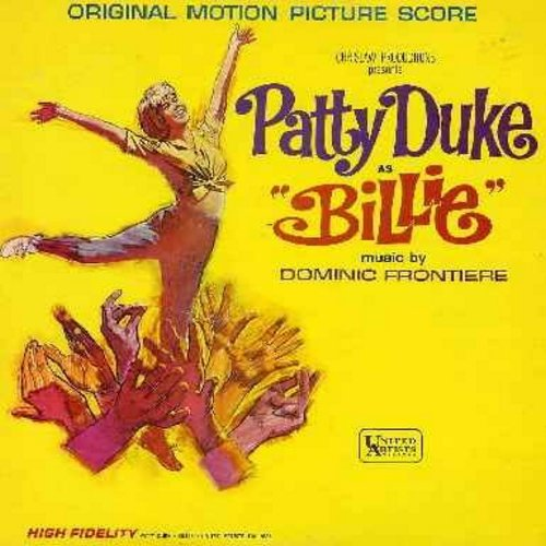 Duke, Patty - Billie - Original Motion Picture Sound Track, includes Patty Duke's songs Funny Little Butterflies and Lonely Little In Between (Vinyl STEREO LP record) - NM9/EX8 - LP Records