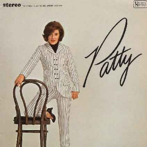 Duke, Patty - Patty: Yesterday, I Love How You Love Me, Sure Gonna Miss Him, The World Is Watching Us (vinyl STEREO LP record) - EX8/EX8 - LP Records