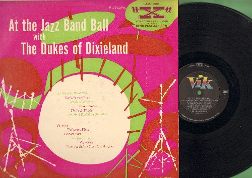 Dukes Of Dixieland - At The Jazz Band Ball: Beale Street Blues, Original Dixeland One-Step, Tiger Rag, When The Saints Go Marching In (Vinyl MONO LP record) - NM9/EX8 - LP Records