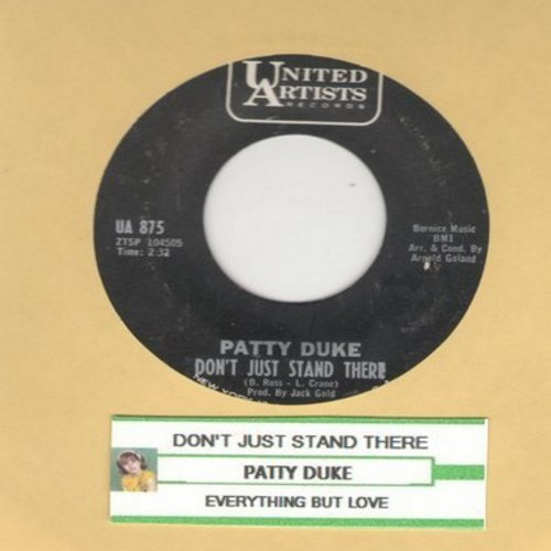 Duke, Patty - Don't Just Stand There/Everything But Love  - EX8/ - 45 rpm Records