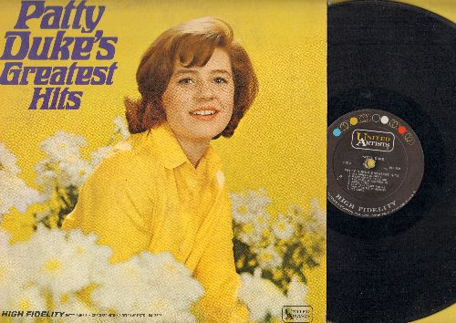Duke, Patty - Patty Duke's Greatest Hits: Don't Just Stand There, Yesterday, All I Have To Do Is Dream, Say Something Funny, Danke Schoen, Save Your Heart For Me (Vinyl MONO LP record) - VG7/EX8 - LP Records