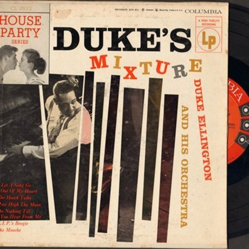 Ellington, Duke & His Orchestra - Duke's Mixture: The Mooche/How High The Moon/V.I.P.'s Boogie + 3 (10 inch vinyl LP record with picture cover) - NM9/VG7 - LP Records