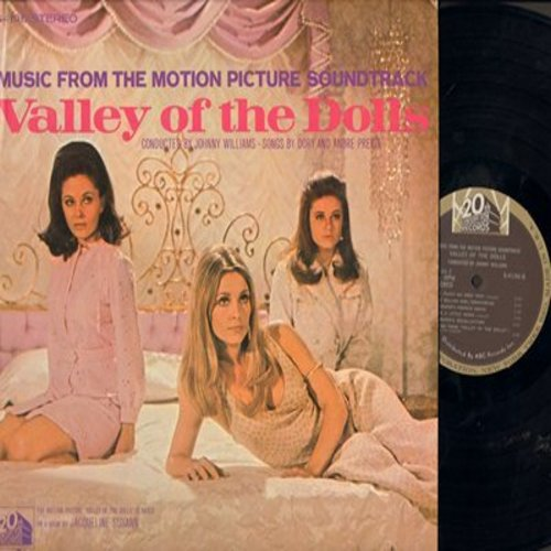 Valley Of The Dolls - Valley Of The Dolls - Music From The Motion Picture Soundtrack (Vinyl STEREO LP record) - M10/EX8 - LP Records