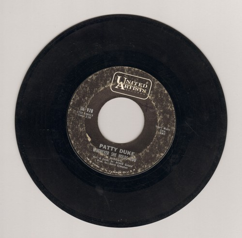 Duke, Patty - Whenever She Holds You/Nothing But You - VG7/ - 45 rpm Records