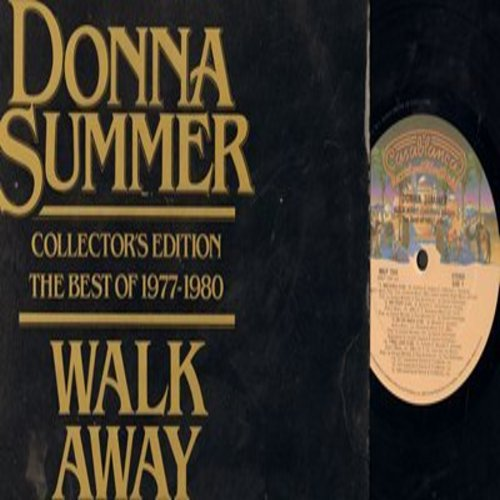 Summer, Donna - Walk Away - Collector's Edition - The Best Of 1977-1980: Bad Girls, Hot Stuff, I Feel Love, Last Dance, On The Radio (Vinyl STEREO LP record) - NM9/EX8 - LP Records