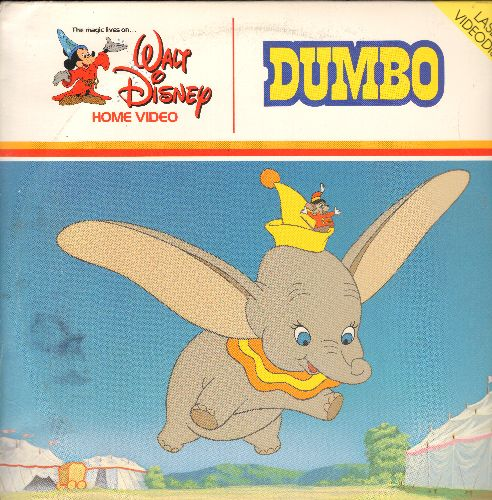 Disney - Dumbo - LASER DISC version of thew beloved Disney Classic (This is a LASER DISC, not any other kind of media!) - NM9/VG7 - Laser Discs