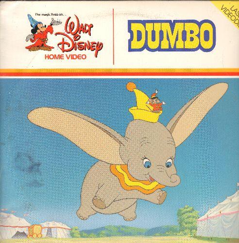 Disney - Dumbo - LASERDISC version of thew beloved Disney Classic (This is a LASERDISC, not any other kind of media!) - NM9/VG7 - LaserDiscs