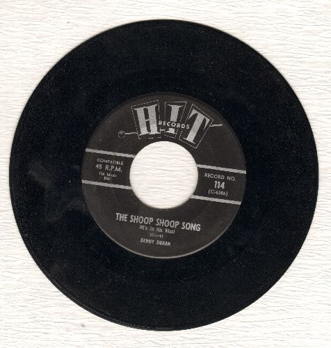 Dugan, Denny - The Shoop Shoop Song/That's The Way Boys Are (by Connie Dee on flip-side) (cover versions) - NM9/ - 45 rpm Records