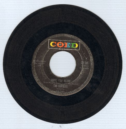 Duprees - My Own True Love/Ginny - EX8/ - 45 rpm Records