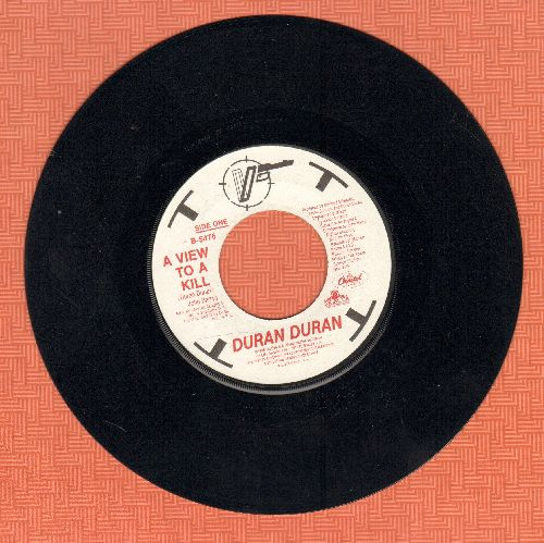 Duran Duran - A View To A Kill (James Bond Theme from film of same title) - EX8/ - 45 rpm Records