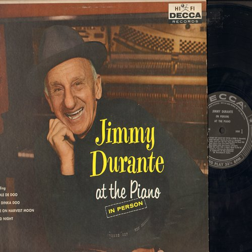 Durante, Jimmy - Jimmy Durante at the Piano: Inka Dinka Doo, Toodle De Doo, You Made Me Love You, Mad Bird Melody (Vinyl MONO LP record) - NM9/EX8 - LP Records
