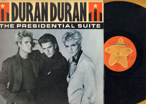 Duran Duran - The Presidential Suite: Meet El Presidente (Extended Dance Club Versions)/Vertigo (Do The Demolition ) (12 inch vinyl Maxi Single with picture cover) - NM9/NM9 - Maxi Singles