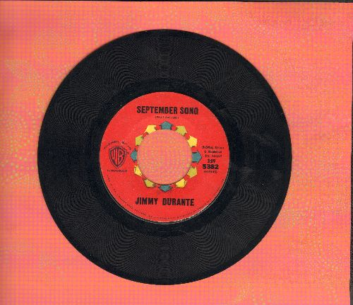 Durante, Jimmy - September Song/Young At Heart - VG7/ - 45 rpm Records