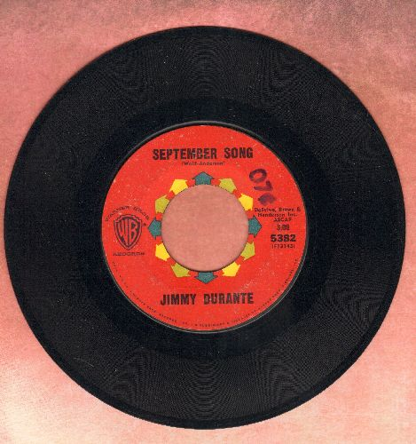 Durante, Jimmy - September Song/Young At Heart - EX8/ - 45 rpm Records