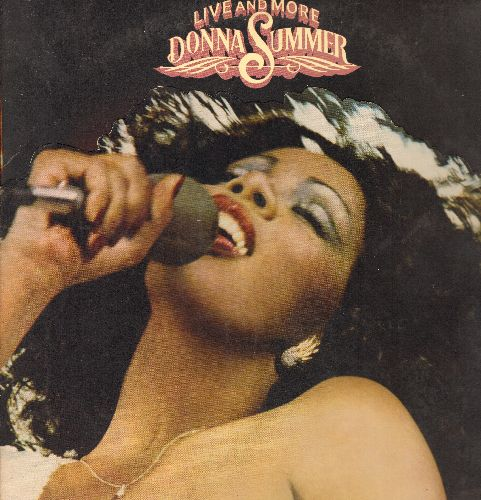 Summer, Donna - Live and More: I Feel Love, The Way We Were, Last Dance (2 vinyl STEREO LP record set in gate-fold cover) - NM9/EX8 - LP Records