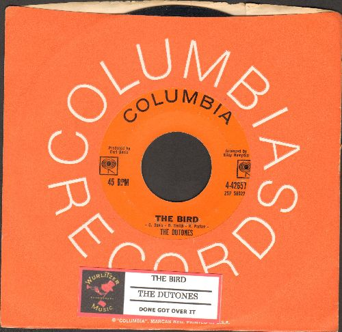Dutones - The Bird/Done Got Over It (with Columbia company sleeve and juke box label) - EX8/ - 45 rpm Records