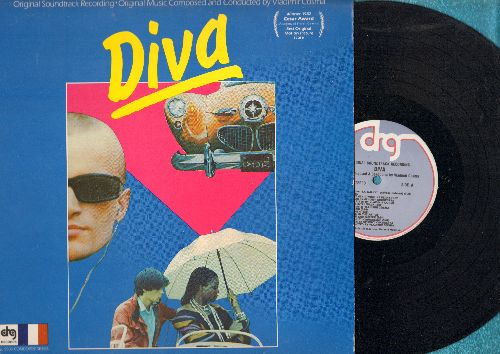 Diva - Diva - Original Motion Picture Soundtrack, Music composed and conducted by Vladimir Cosma (vinyl STEREO LP record) - NM9/NM9 - LP Records