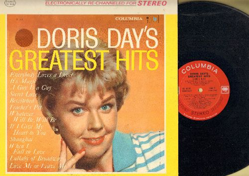Day, Doris - Doris Day's Greatest Hits: Whatever Will Be Will Be, Secret Love, When I Fall In Love, Teacher's Pet, Love Me Or Leave Me (Vinyl STEREO LP record) - NM9/NM9 - LP Records