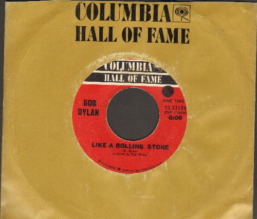 Dylan, Bob - Like A Rolling Stone/Rainy Day Woman #12 & 35 (double-hit re-issue) - EX8/ - 45 rpm Records